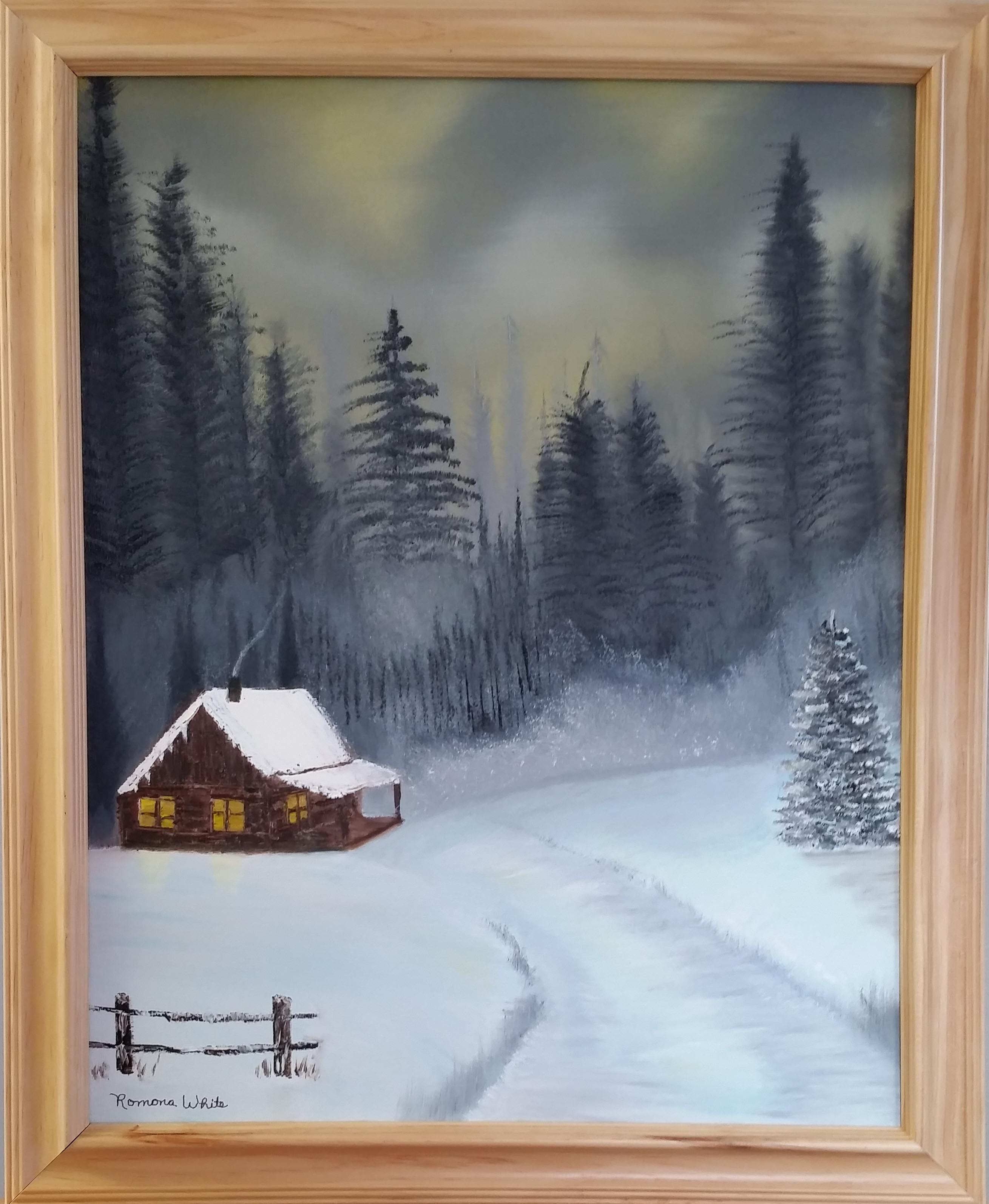 winter cabin 1